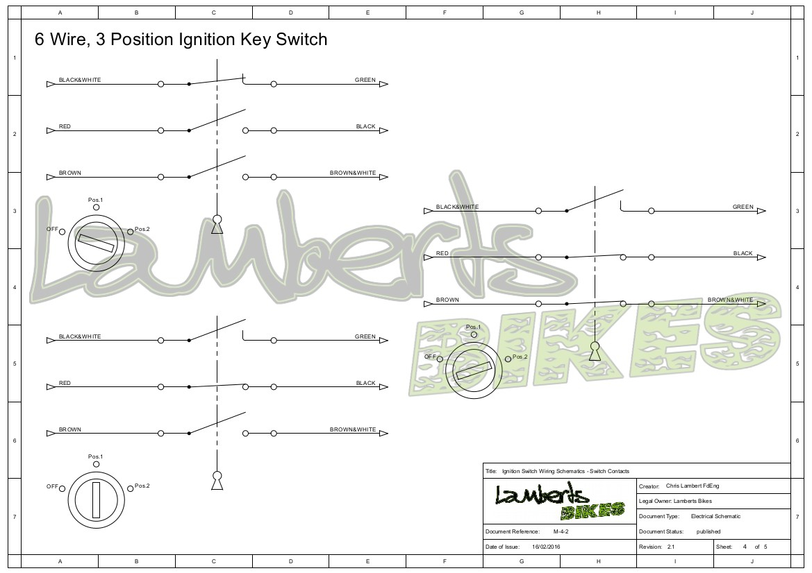 Swdiagm 3 Position Ignition Switch Wiring Diagram | Hncdesignperu - 3 Position Ignition Switch Wiring Diagram