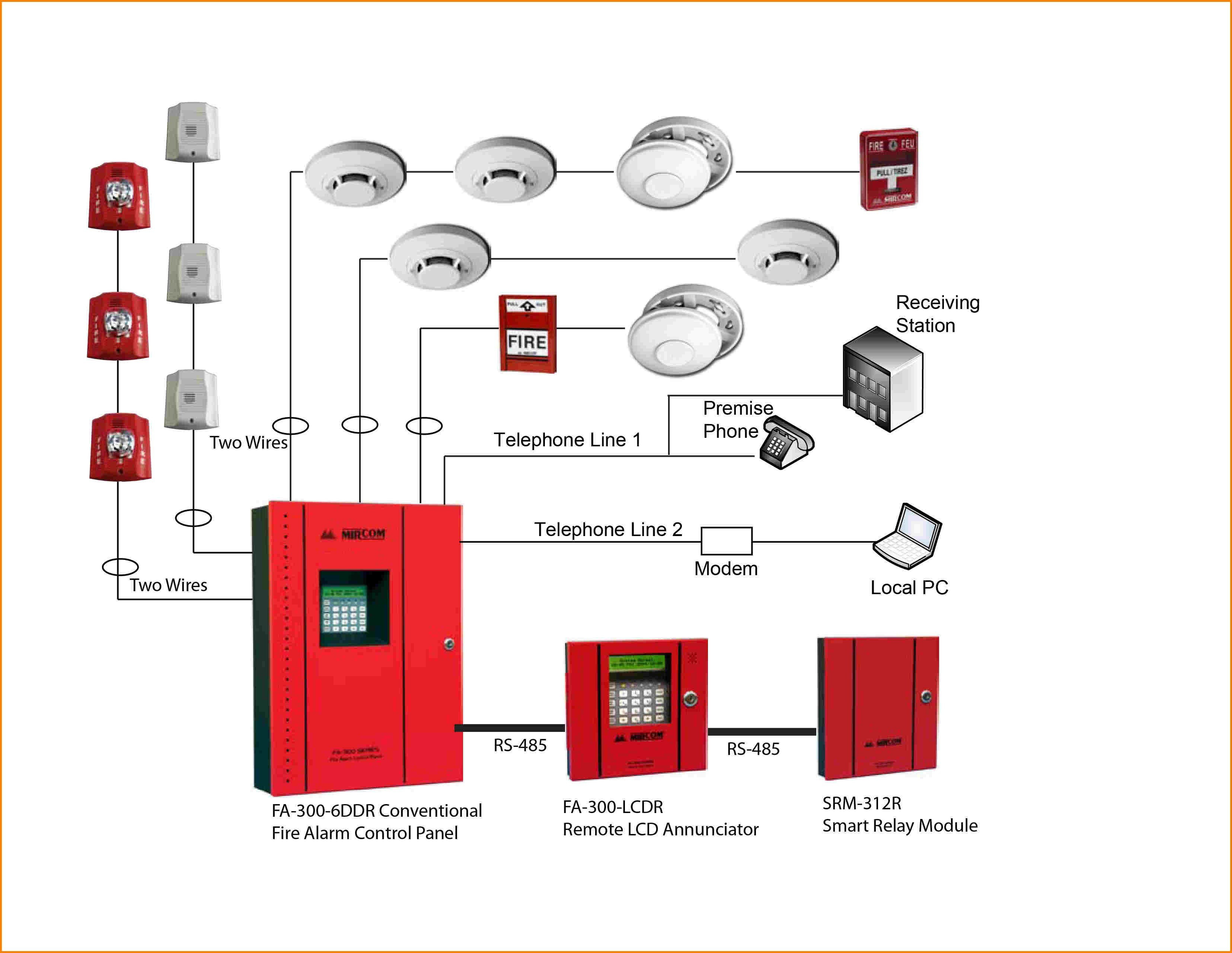 System Sensor Wiring Diagram | Wiring Diagram - Smoke Detector Wiring Diagram