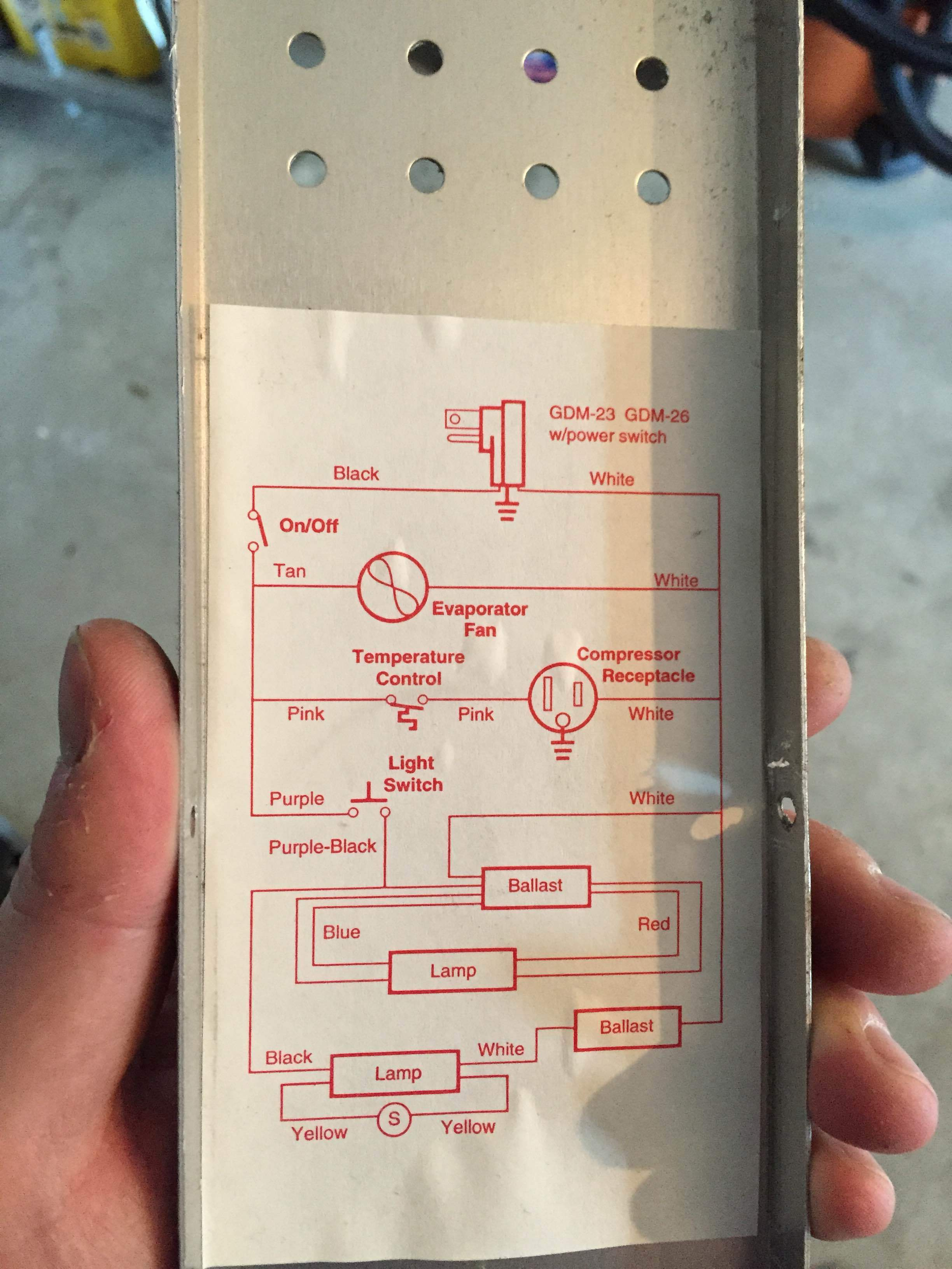 T 49F True Freezer Wiring Diagram   Wiring Diagram - True Freezer T 49F Wiring Diagram