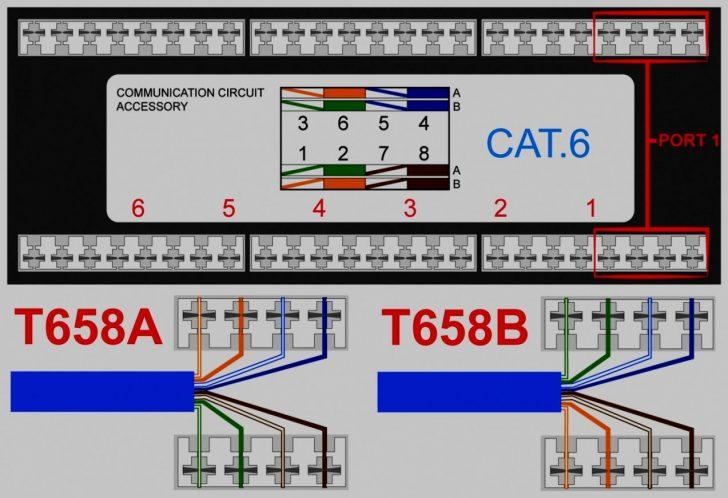 Rj45 Wall Socket Wiring Diagram