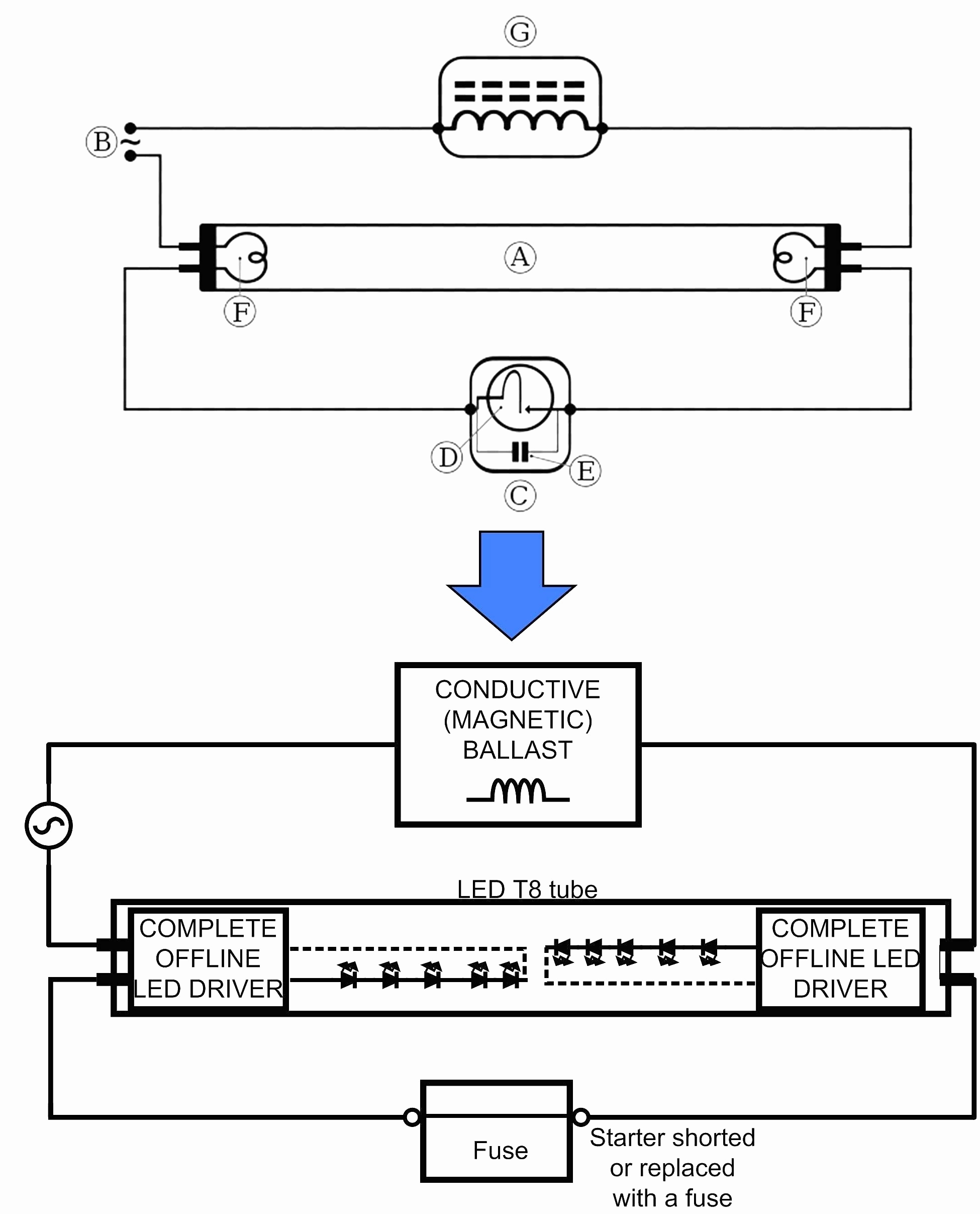 t8 electronic ballast wiring diagram | wiring diagram library - ballast  wiring diagram t8
