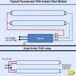 T8 Led Lamps Q&a   Retrofitting, Ballasts, Tombstones   How To Read A Ballast Wiring Diagram