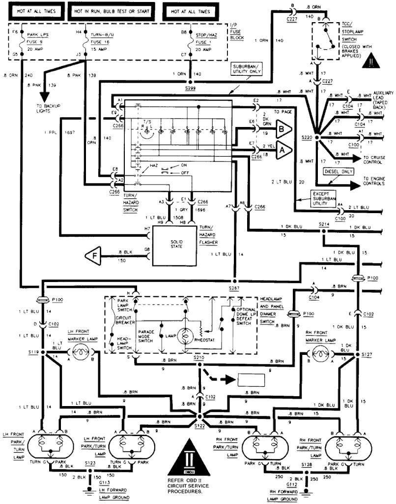 Tail Lamp Socket - Wiring Diagram For 1997 Chevy Silverado