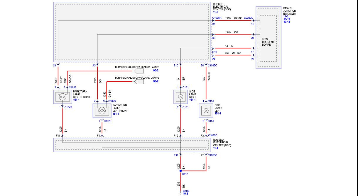 Tail Light Wiring Diagram - The Mustang Source - Ford Mustang Forums - Brake Light Wiring Diagram