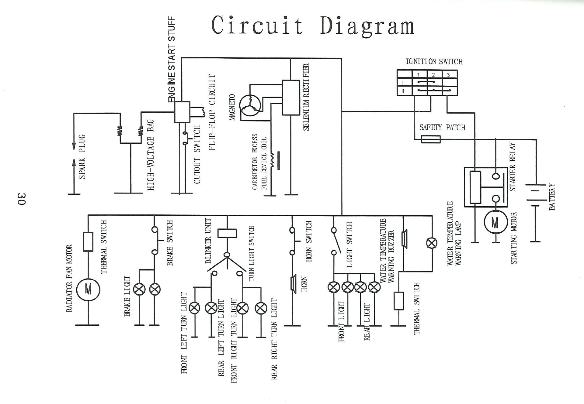 Tao Tao 150Cc Scooter Wiring Diagram | Wiring Diagram - 150Cc Scooter Wiring Diagram