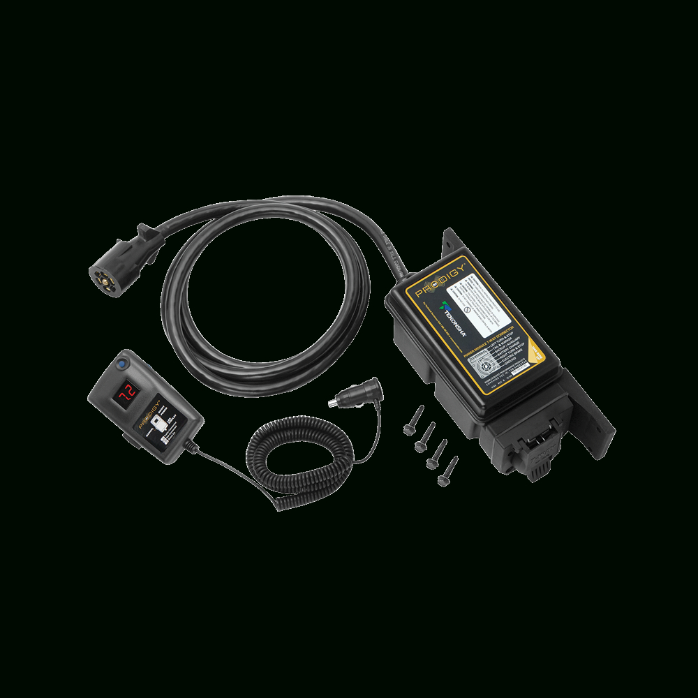 Tekonsha - Trailer Brake Control - Proportional - Electric Brake Wiring Diagram