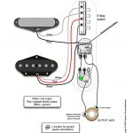 Tele Wiring Diagram, Tapped With A 5 Way Switch | Telecaster Build   5 Way Switch Wiring Diagram