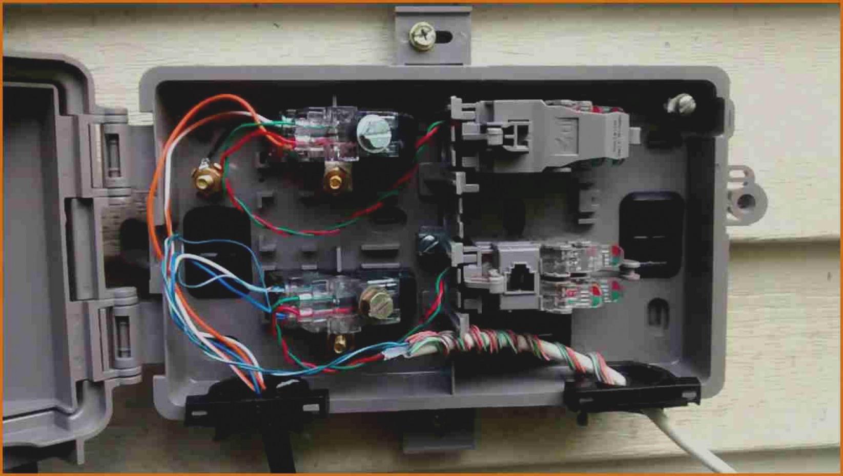 Telephone Interface Wiring Diagram   Wiring Diagram - Telephone Network Interface Wiring Diagram