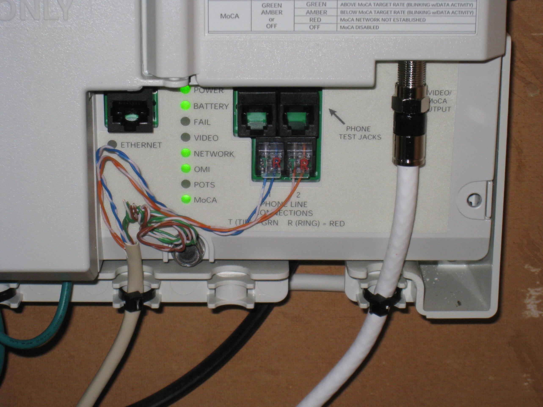 Telephone Network Interface Device Box Wiring Diagram | Wiring Diagram - Telephone Wiring Diagram Outside Box