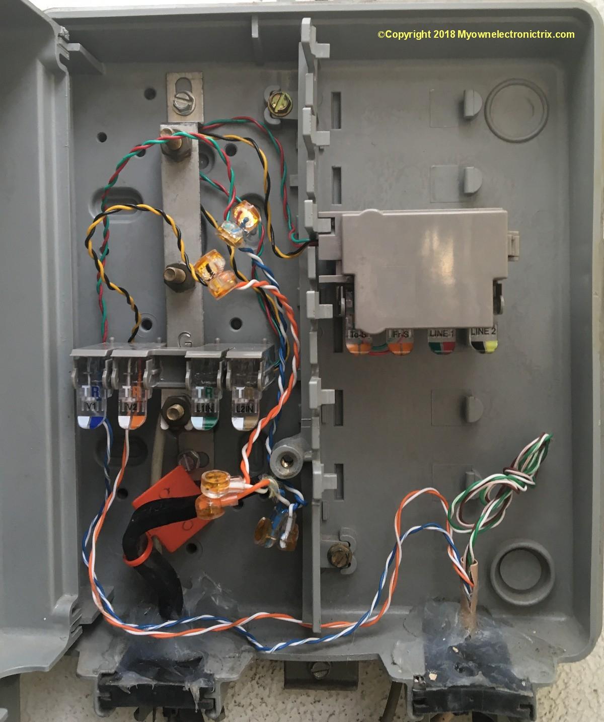 Telephone Wiring Diagram Outside Box | Wiring Diagram - Telephone Wiring Diagram Outside Box