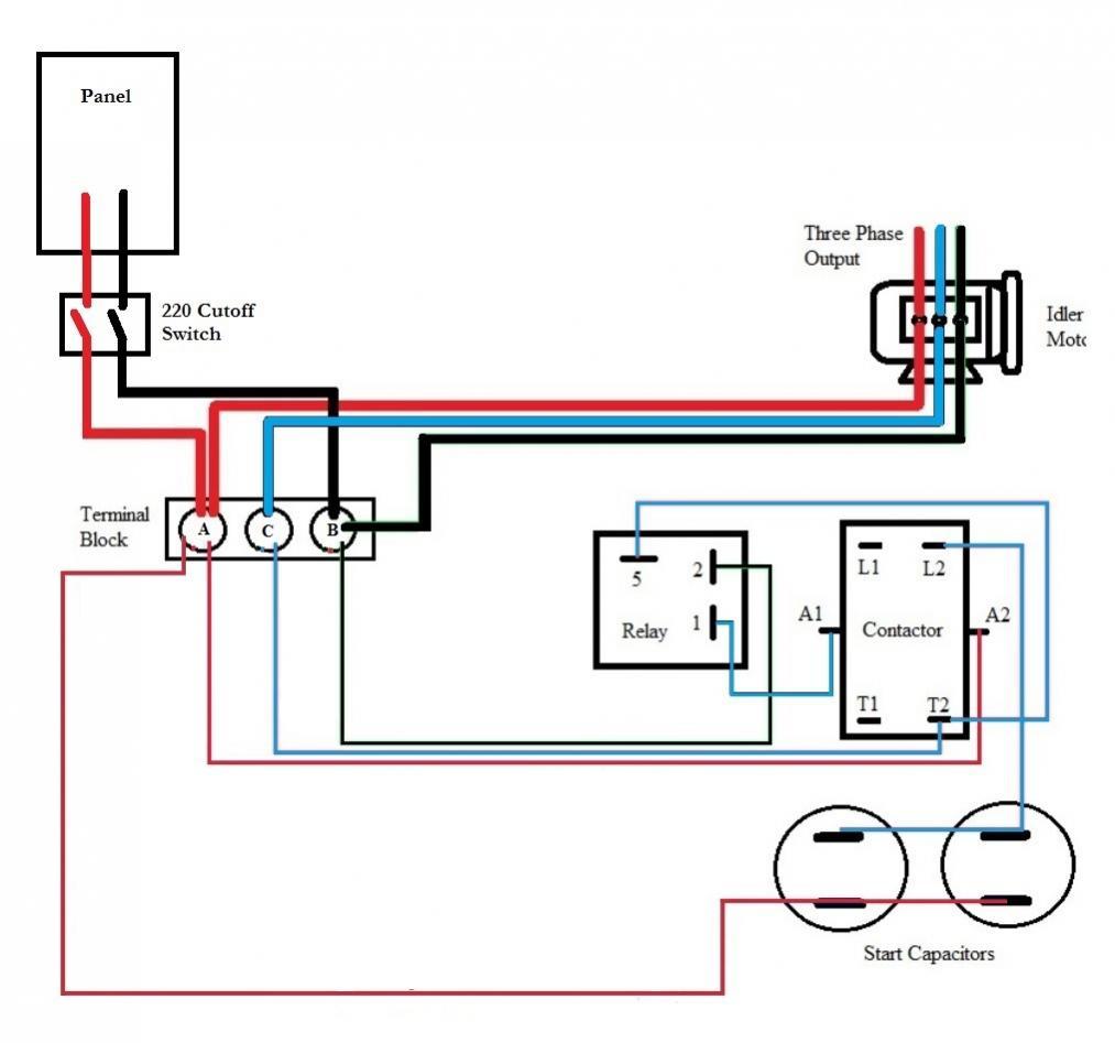 Three Phase Capacitor Wiring Diagram   Wiring Diagram - Single Phase Motor Wiring Diagram With Capacitor Start