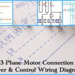 Three Phase Motor Power & Control Wiring Diagrams   3 Phase Motor Wiring Diagram