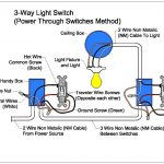Three Way Switch Diagram For Dummies | Printable Diagram | Printable   3 Way Switch Wiring Diagram Power At Switch