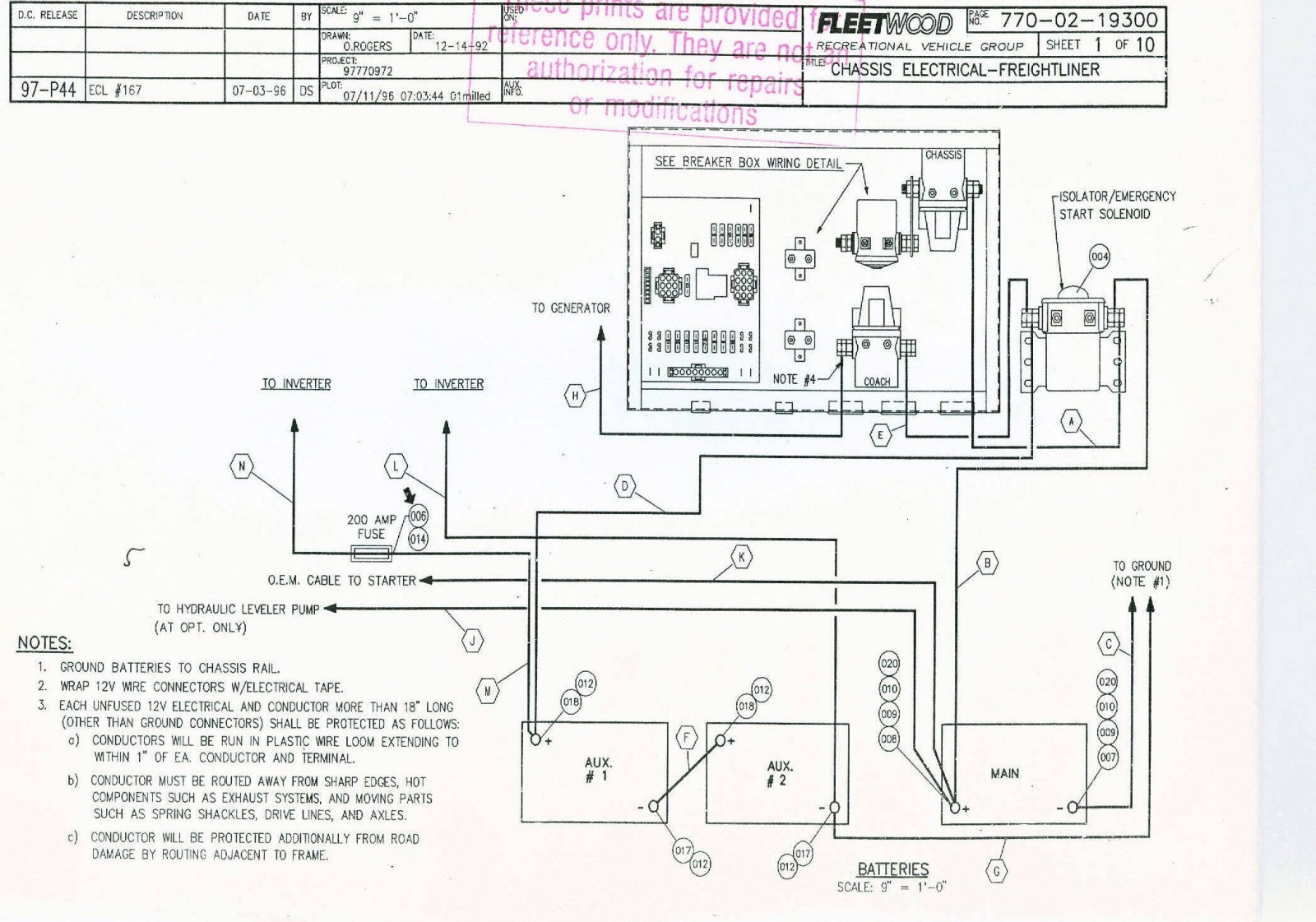 Tiffin Motorhome Wiring Diagram Winnebago Lovely Amazing - Winnebago Motorhome Wiring Diagram