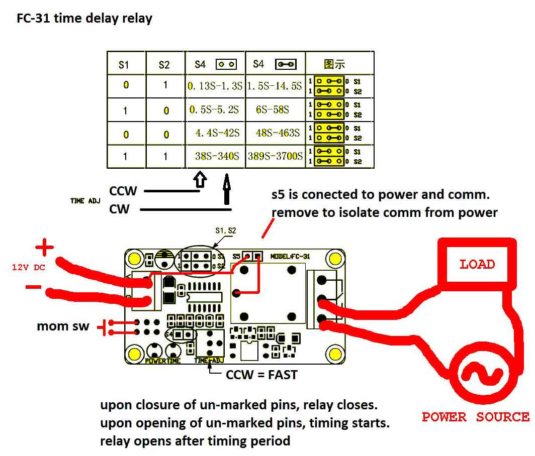 Timer - How To Wire This Delay Relay Switch - Electrical Engineering - Time Delay Relay Wiring Diagram