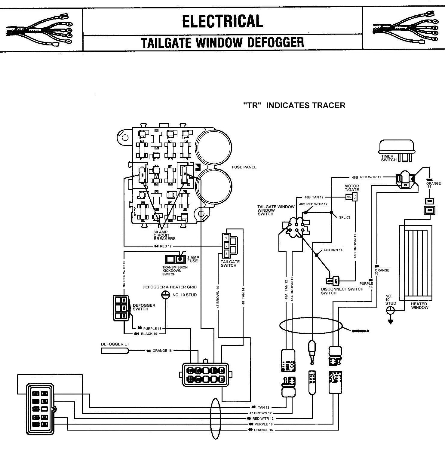 Tom 'oljeep' Collins Fsj Wiring Page - International Truck Wiring Diagram