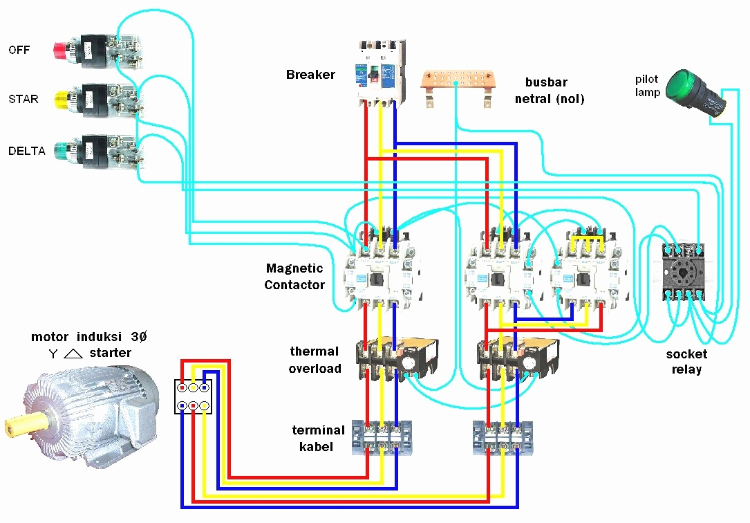 Toshiba Motor Starter Wiring Diagram | Manual E-Books - Starter Wiring Diagram