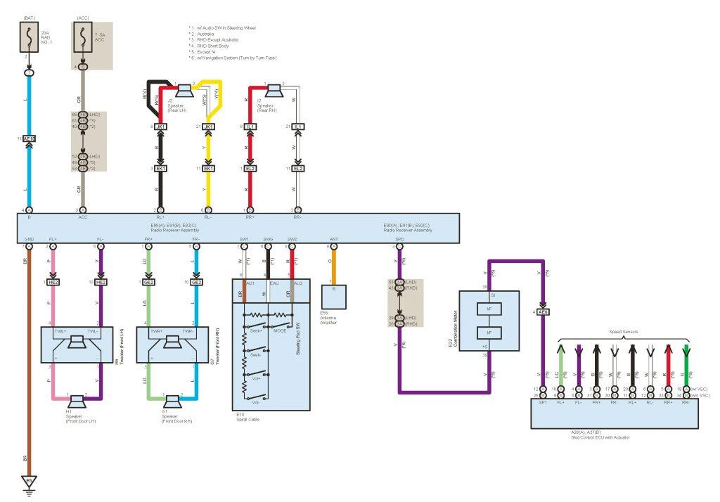 Enjoyable Toyota Alternator Wiring Diagram Wirings Diagram Wiring Database Aboleterrageneticorg