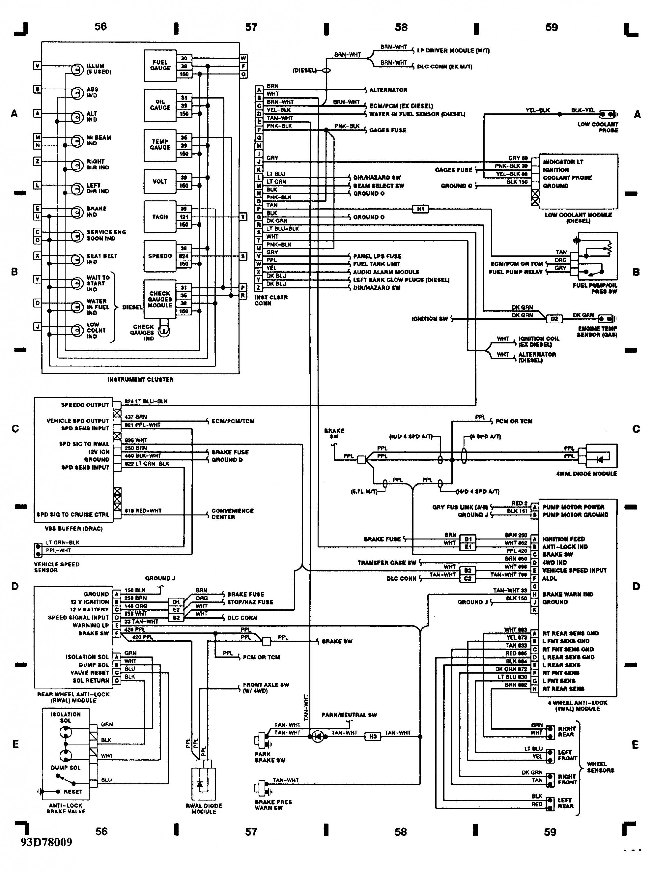 Tpi Gauges Wiring Harness Diagram | Wiring Library - 5.7 Vortec Wiring Harness Diagram