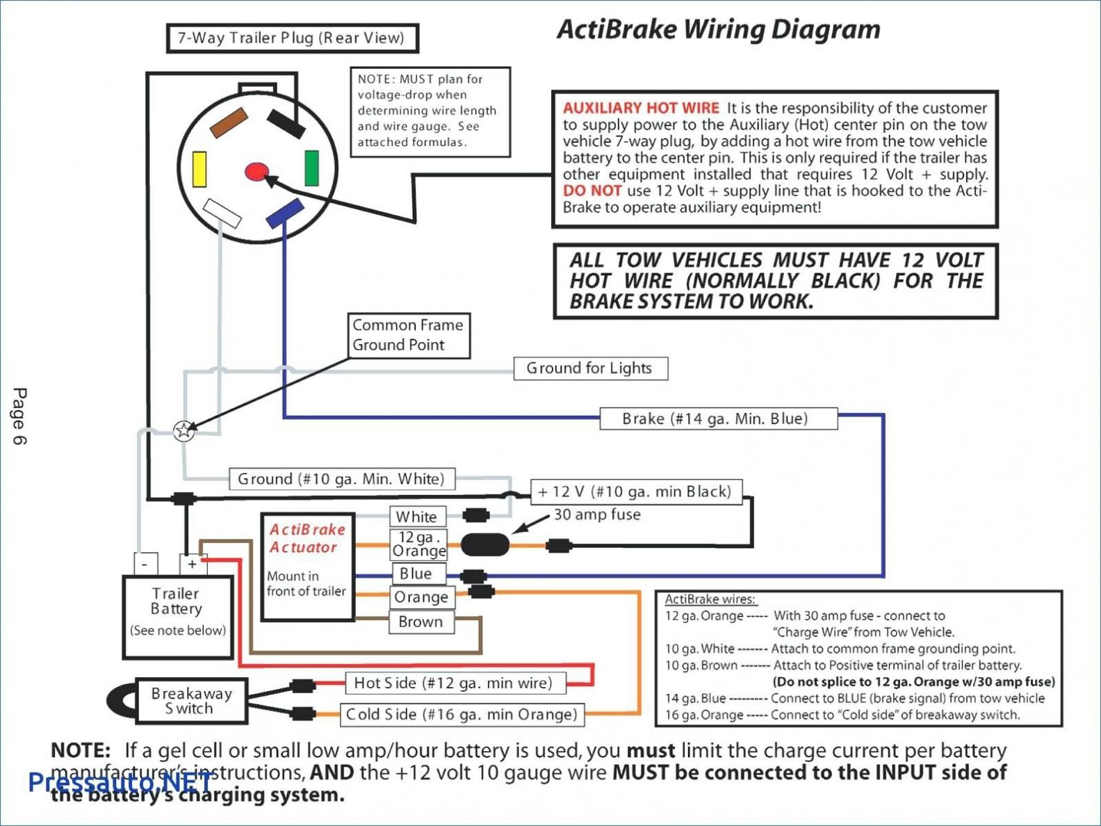 Trailer Connector Wiring Diagram 7 Way — Daytonva150 - Trailer Connector Wiring Diagram 7 Way