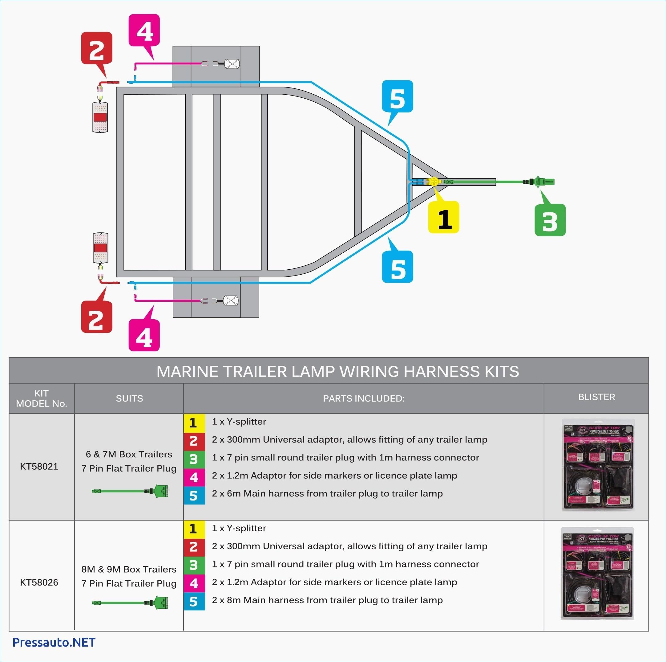 Trailer Wiring Diagram Sabs - Wiring Diagram Blog - 7 Pin Connector Wiring Diagram