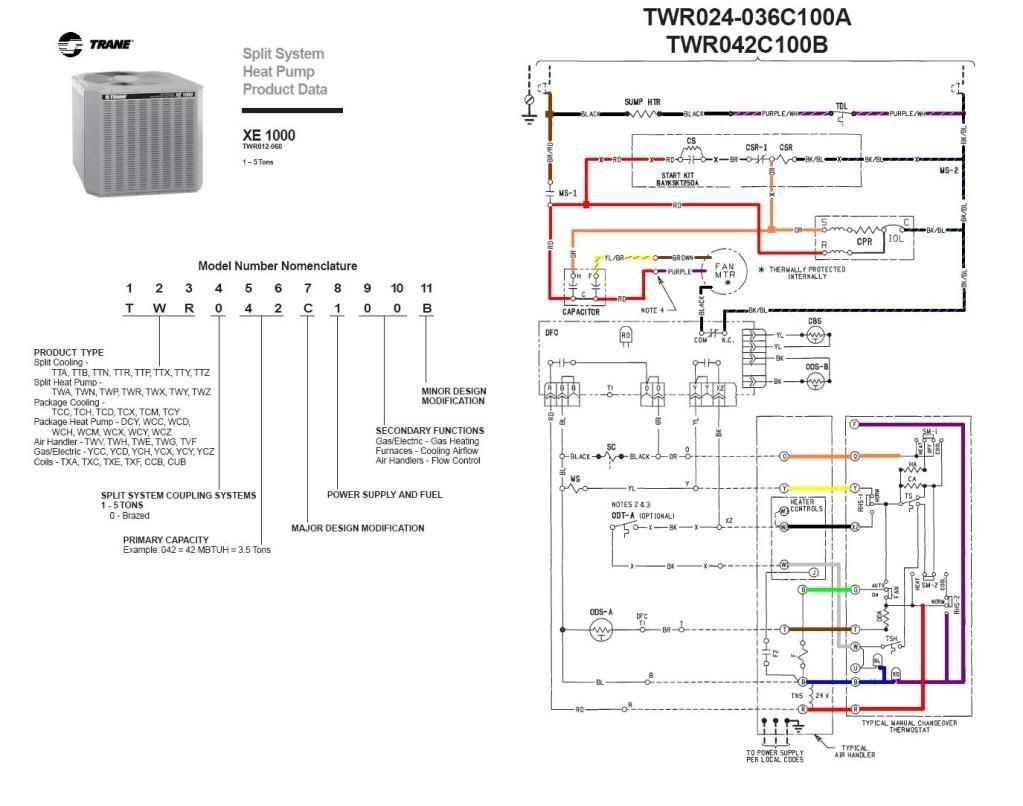 Trane Heat Pump Wire Diagram | Wiring Library - Trane Heat Pump Wiring Diagram