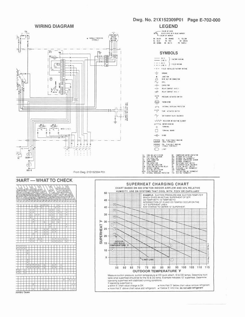 Trane Rooftop Unit Wiring Diagram | Manual E-Books - Trane Rooftop Unit Wiring Diagram
