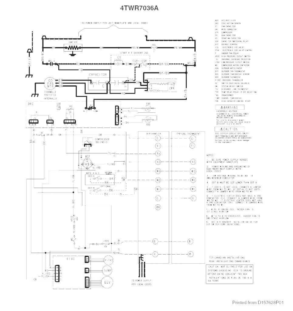 Trane Thermostat Manual How To Wire A Heat Pump Honeywell 5 Blue - Trane Heat Pump Wiring Diagram