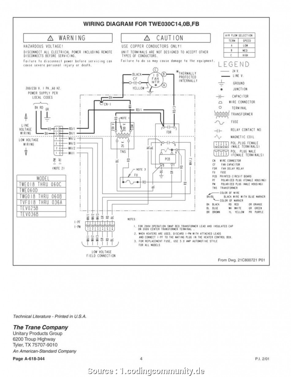 Trane Voyager Wiring Diagram - Trusted Wiring Diagram - Trane Voyager Wiring Diagram