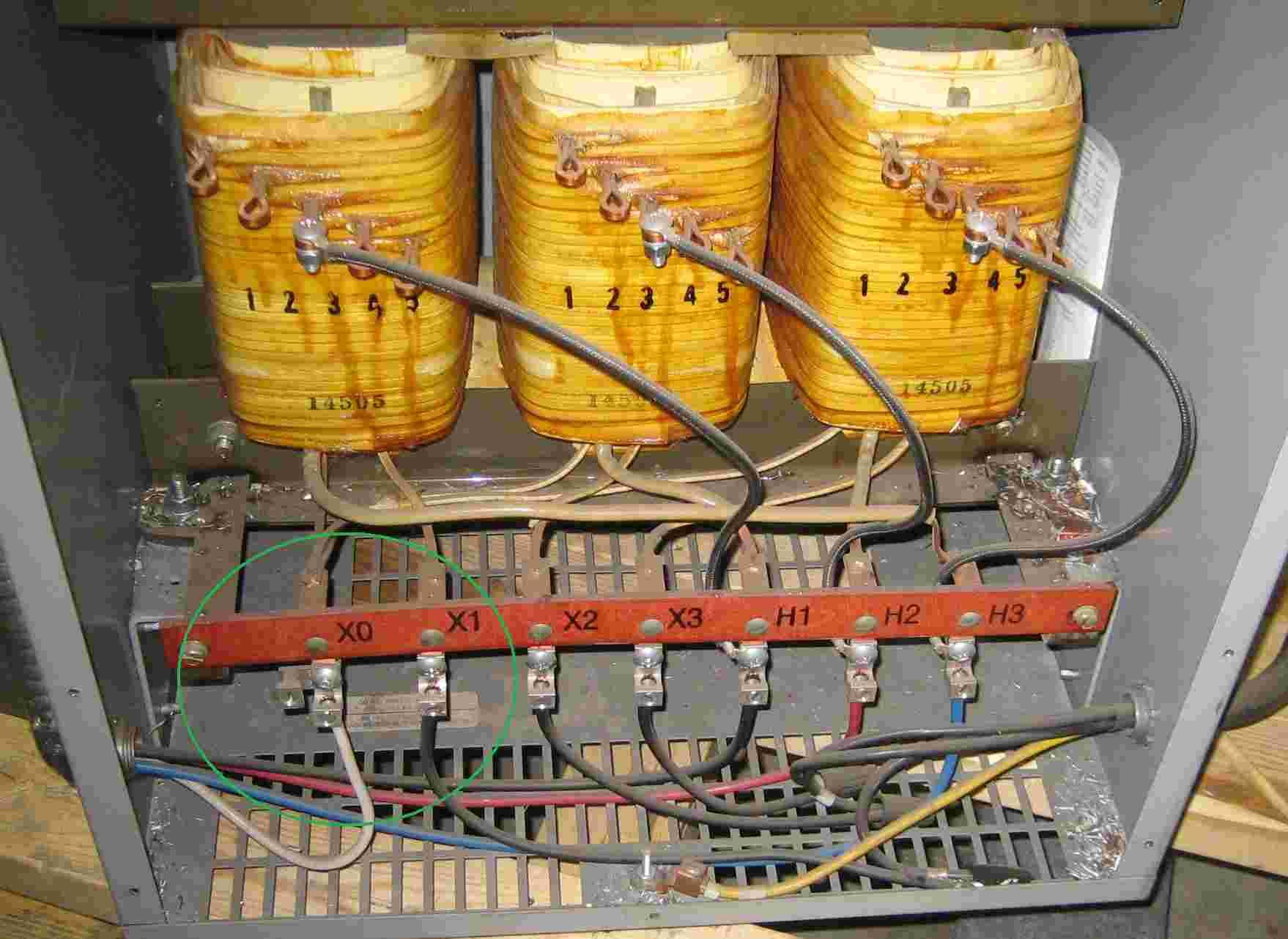 Transformer / Rotary Phase Converter Questions - 24 Volt Transformer Wiring Diagram