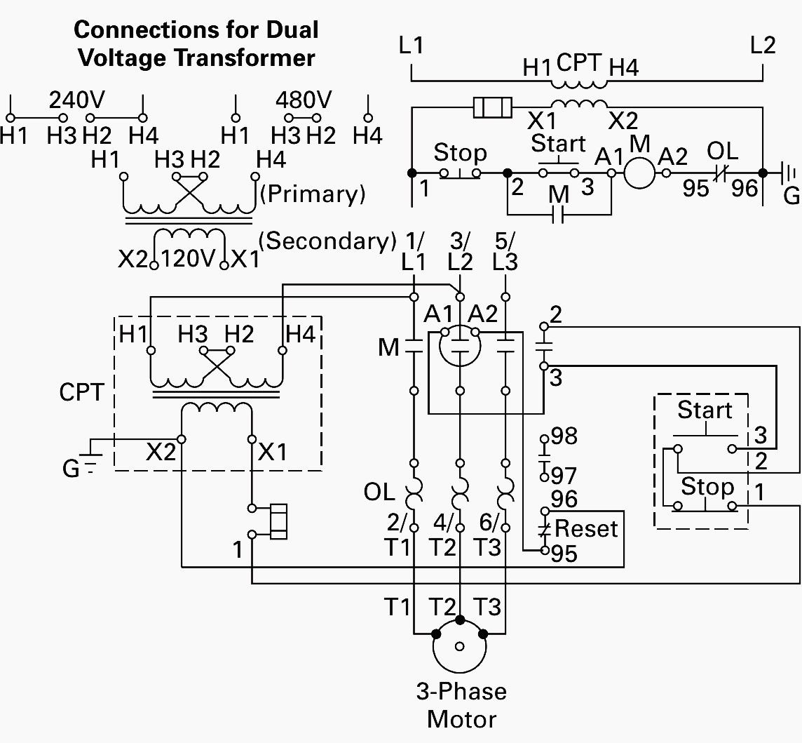 Transformer Wiring Diagrams Single Phase | Wiring Diagram - Transformer Wiring Diagram