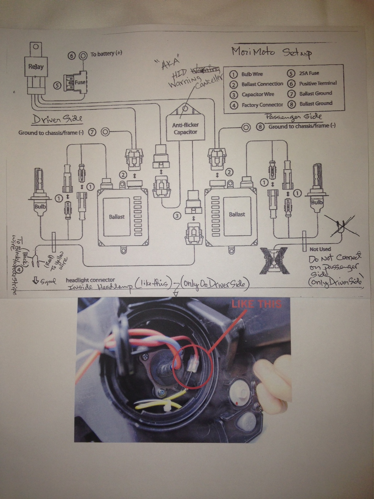 Trs Hid Hd Harness Wiring Diagram - Trs Wiring Diagram