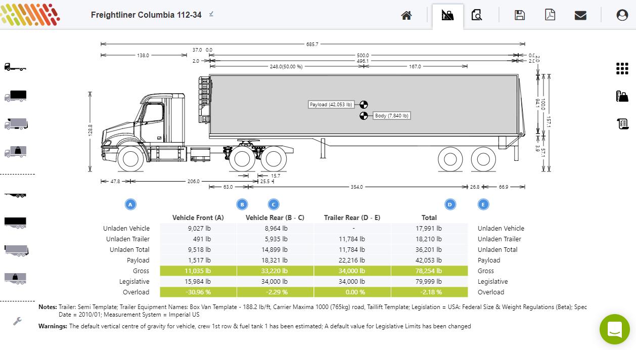 Truck Axle Weight Diagram - Wiring Diagrams Hubs - Semi Trailer Wiring Diagram