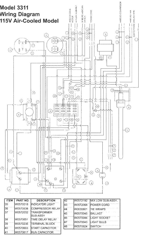 True Freezer Schematics   Wiring Diagram - True Freezer T 49F Wiring Diagram