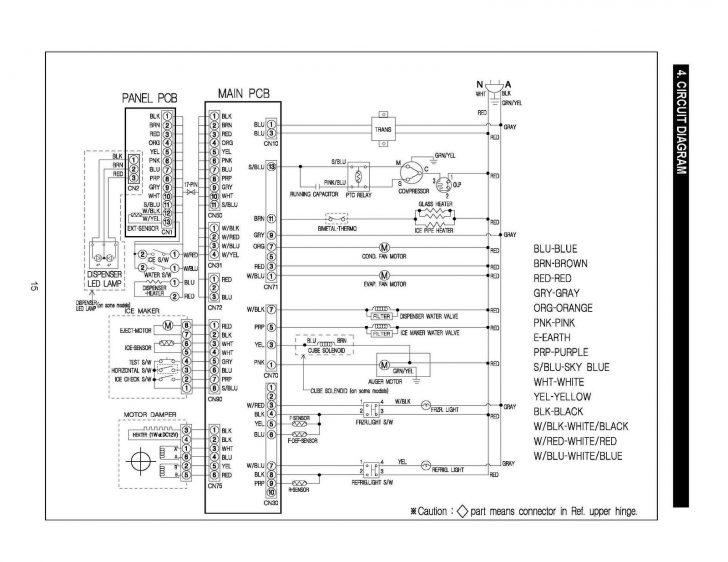 True Freezer T 49F Wiring Diagram