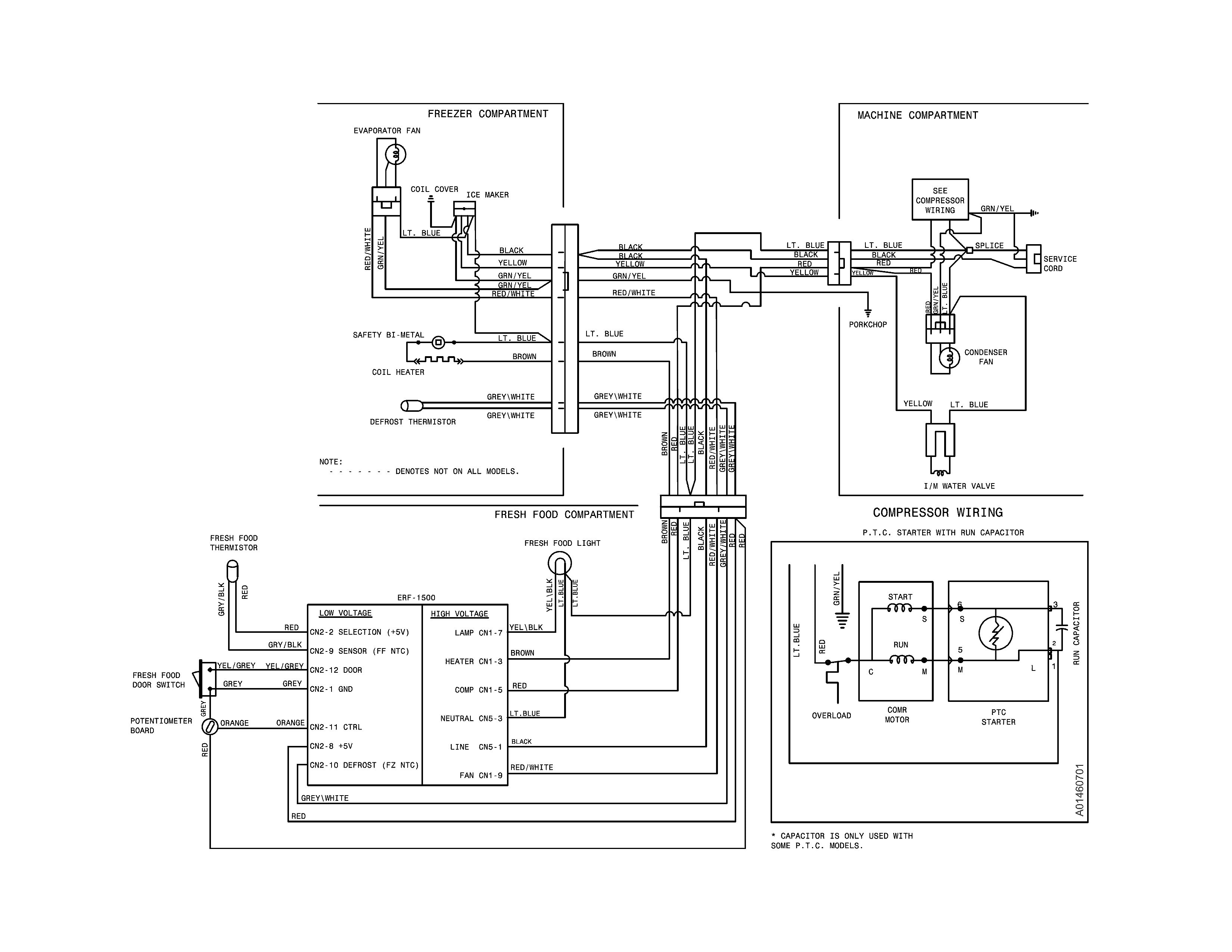 True Refrigerator Compressor Wiring Diagram | Wiring Diagram - Refrigerator Compressor Wiring Diagram