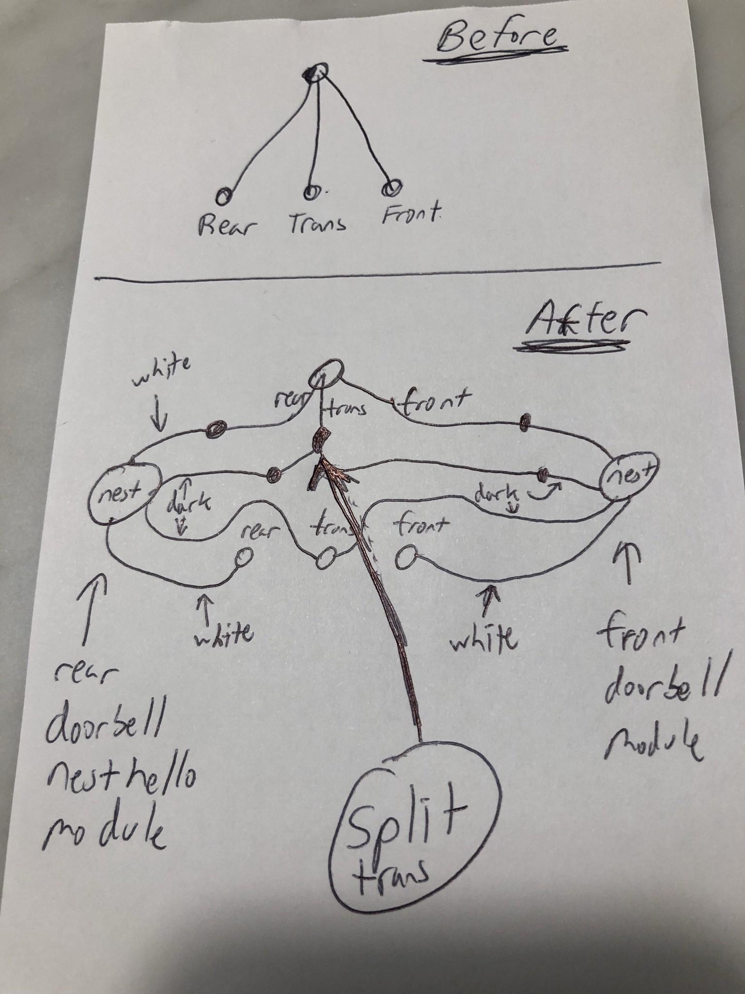Two Nest Hello Wired Together - Album On Imgur - Nest Hello Wiring Diagram