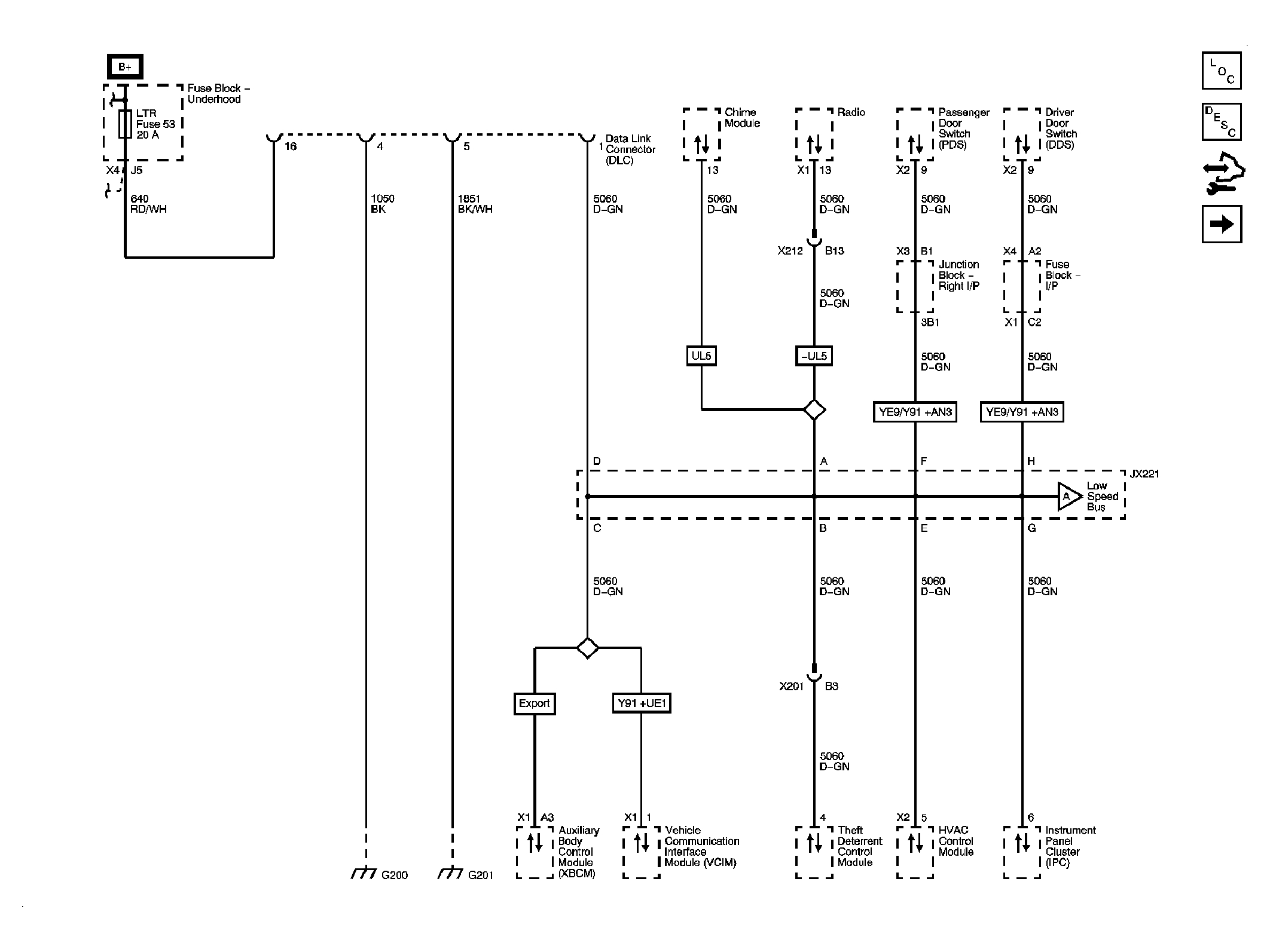 U0073 – Control Module – Data Bus Off – Troublecodes - Data Link Connector Wiring Diagram