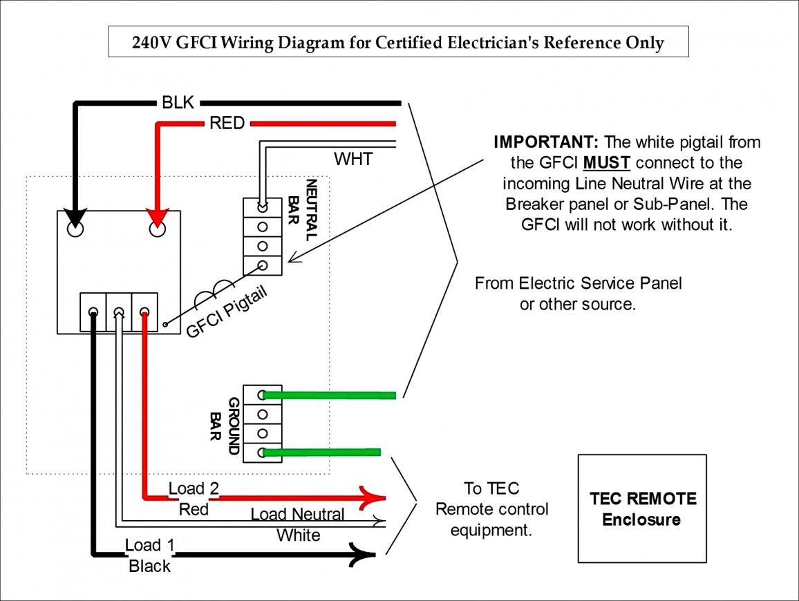 Unique Gfci Breaker Wiring Diagram Wire For Library Simple New - 240V Plug Wiring Diagram