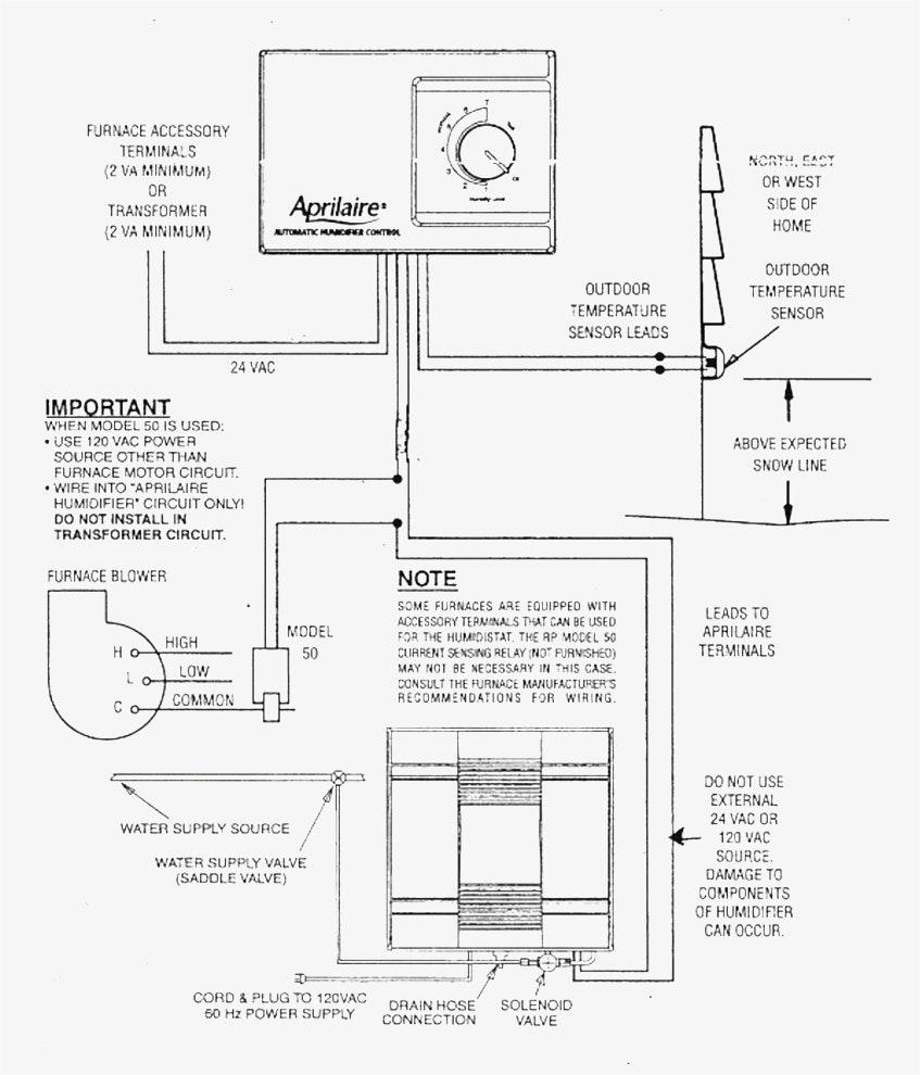 Unique Wiring Diagram For Aprilaire 600 Aprilaire 600A Wiring - Aprilaire 600 Wiring Diagram