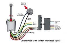 Universal Bolt On Turn Signal Switch Wiring   Youtube   Universal Turn Signal Switch Wiring Diagram