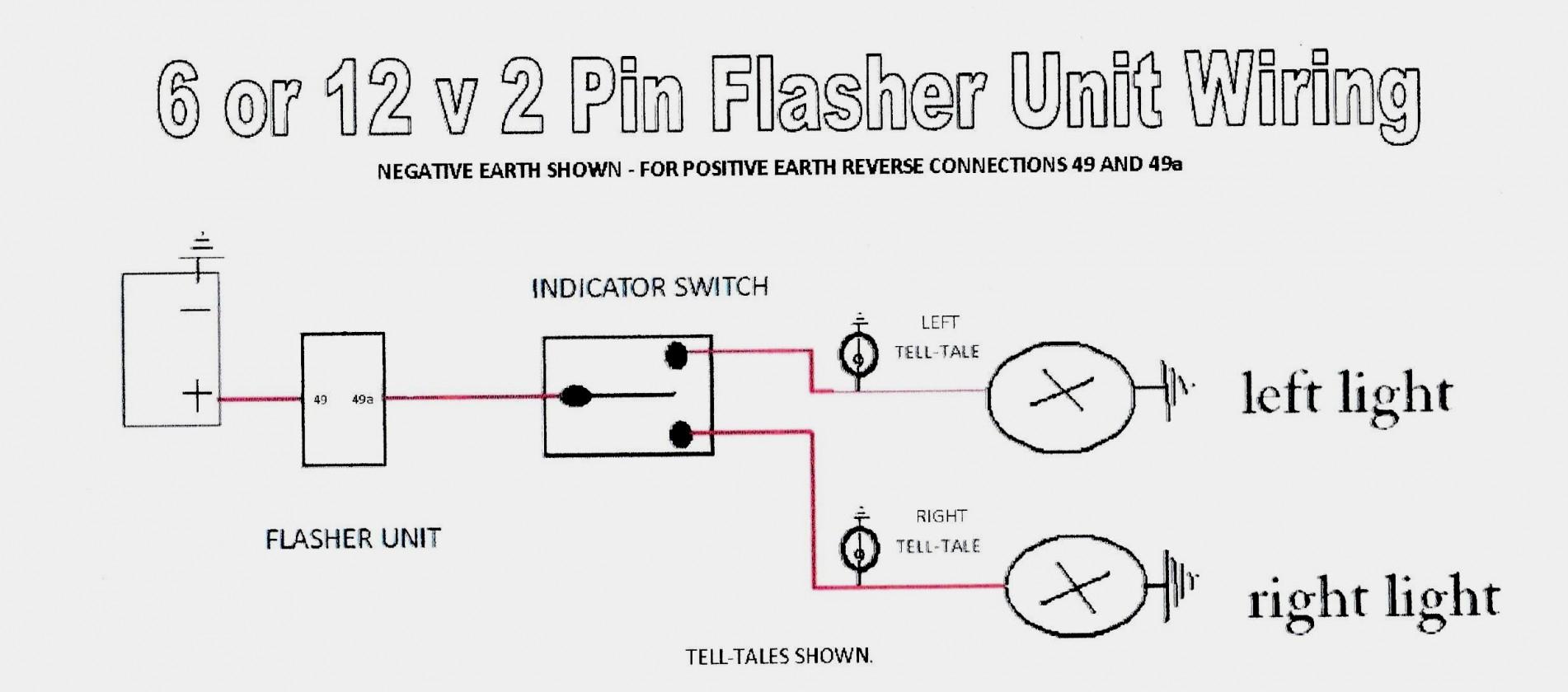 Universal Turn Signal Flasher Wiring Diagram - Trusted Wiring - Universal Turn Signal Wiring Diagram