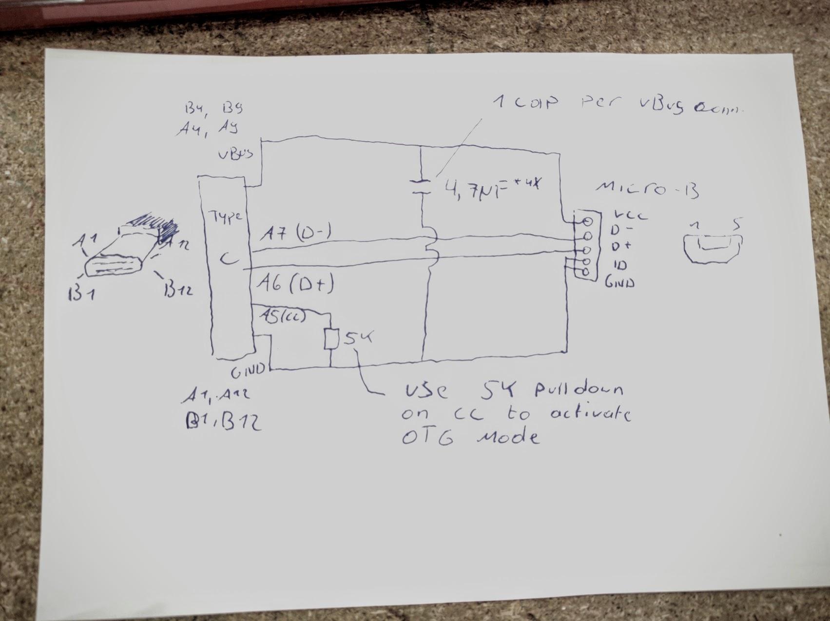 Usb Type C Mod Time! - Usb Type C Wiring Diagram