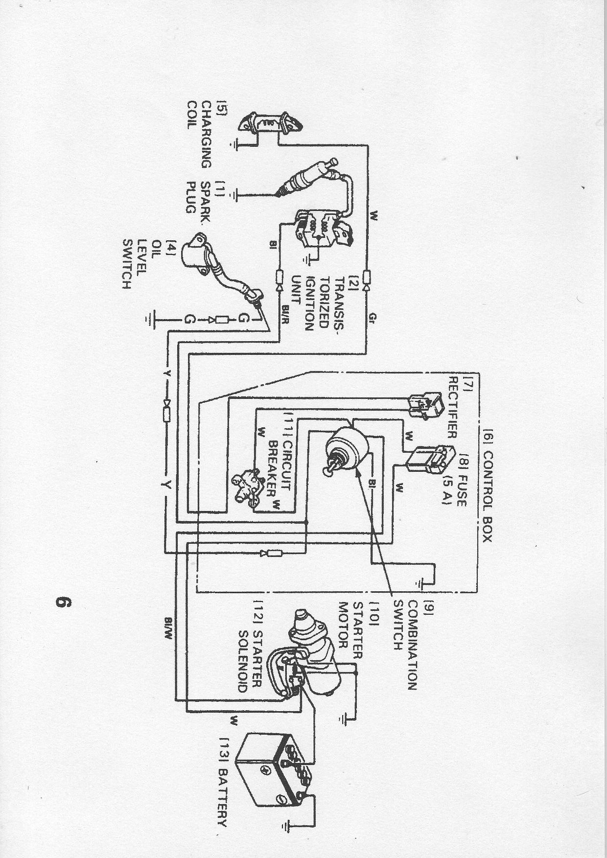 Useful Information - Honda Gx160 Electric Start Wiring Diagram