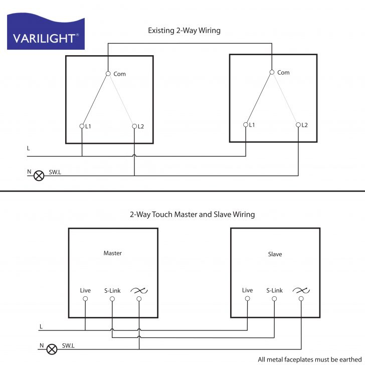 Dimming Switch Wiring Diagram