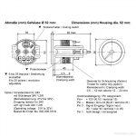 Vdo Marine Tachometer Wiring Diagram   Data Wiring Diagram Schematic   Tachometer Wiring Diagram