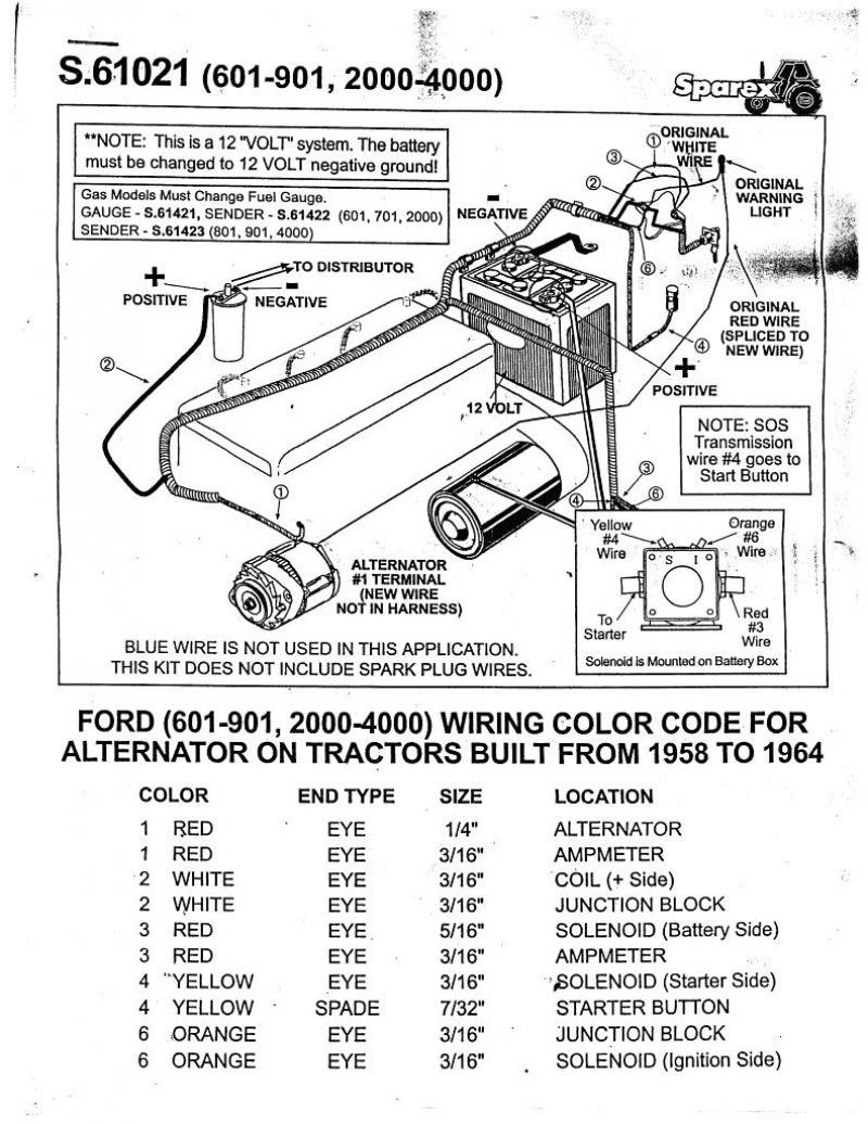 Vintage 6 Volt Positive Ground Wiring Diagram Ford | Wiring Library - 8N Ford Tractor Wiring Diagram 12 Volt