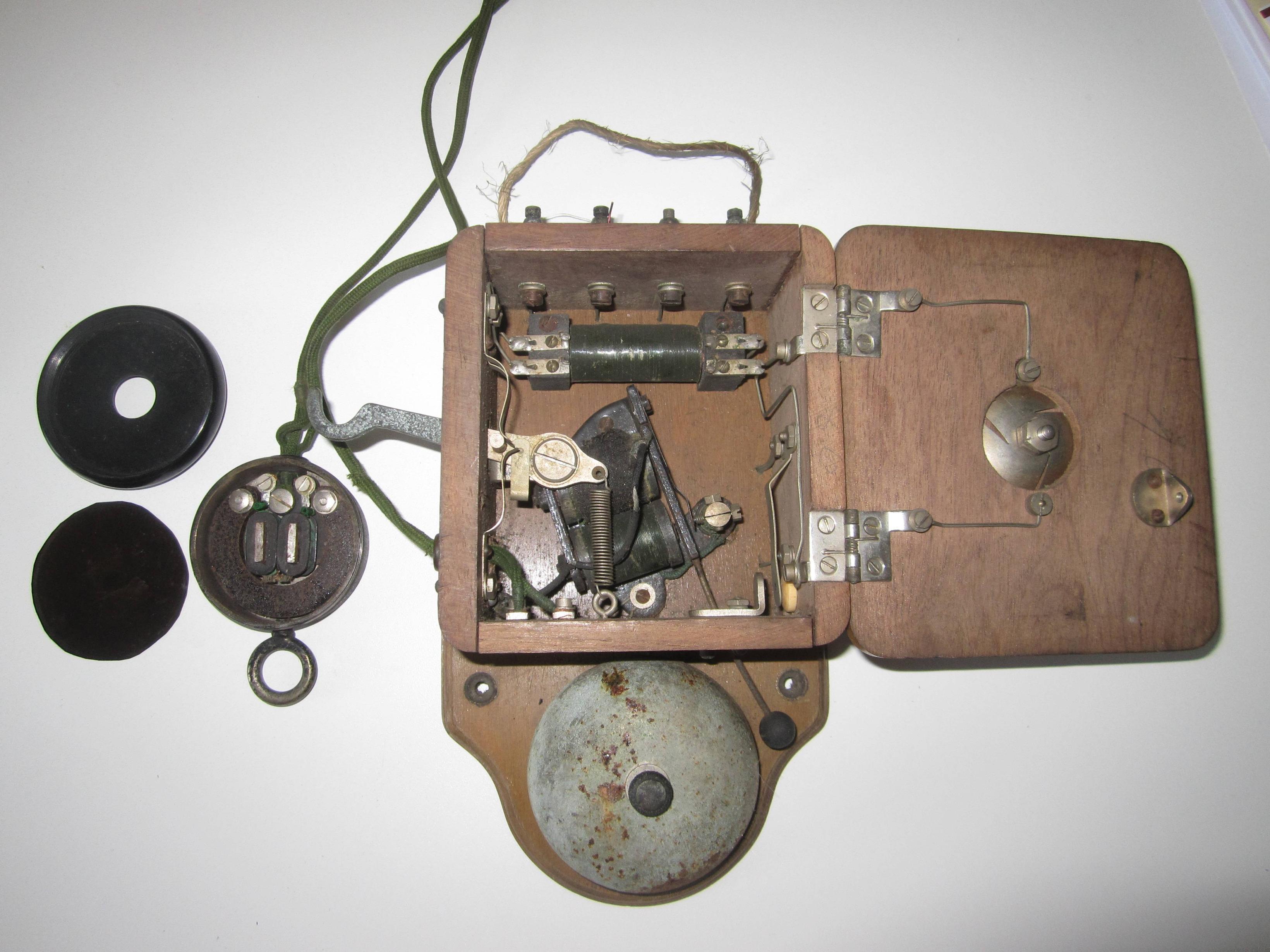 Vintage Telephone Wiring Diagram   Manual E-Books - Old Telephone Wiring Diagram