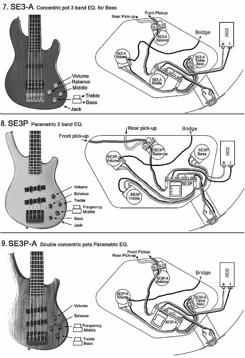 Violin Bass Guitar Wiring Diagram | Manual E-Books - Bass Guitar Wiring Diagram