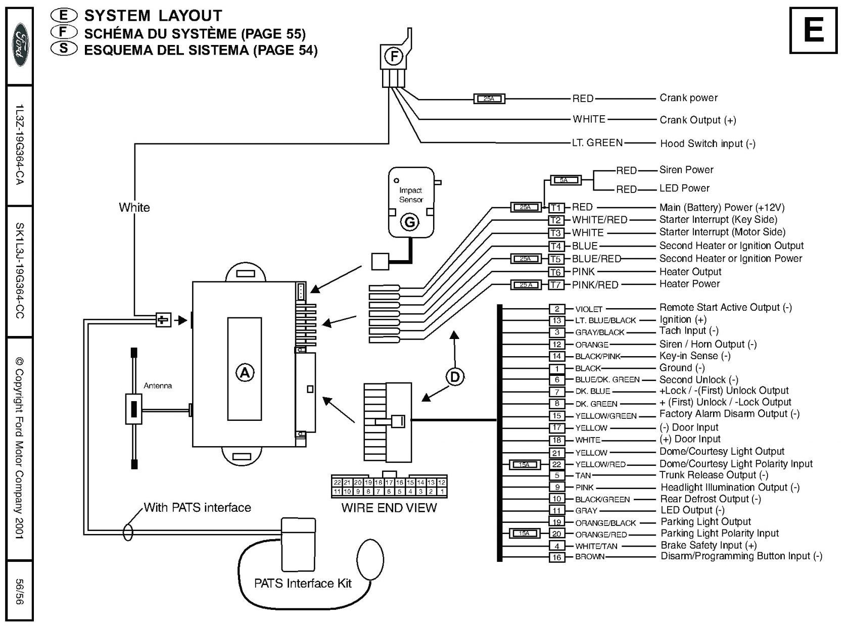 Viper 5305V Remote Start Wiring Diagram | Manual E-Books - Viper 5305V Wiring Diagram